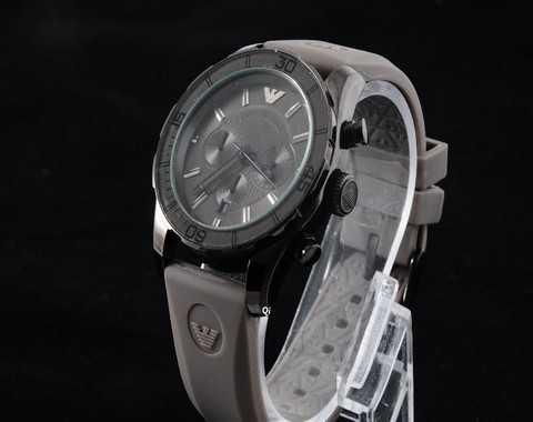 montre homme armani bracelet silicone