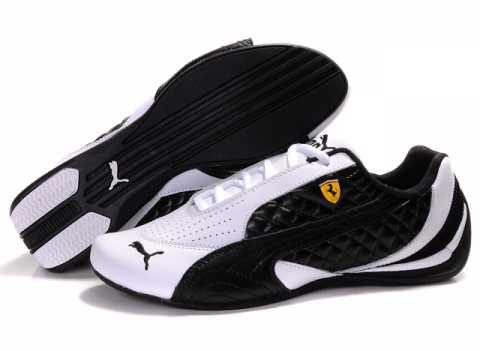 chaussure puma cuir noir