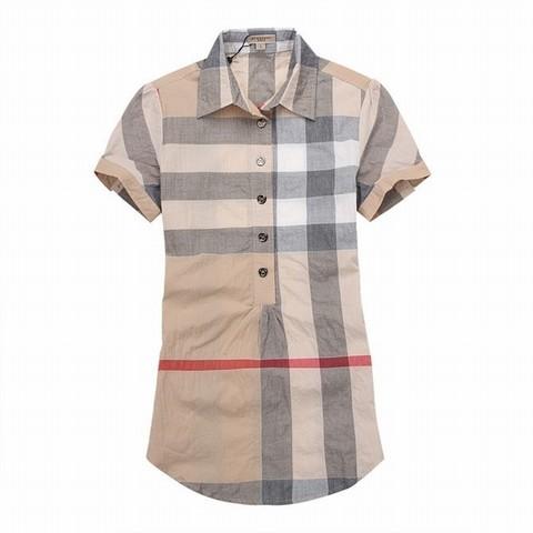 vente en gros chemise homme chemise burberry grand carreau chemise homme  slim 73f95b686214